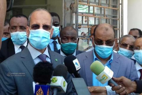 وزير التهذيب الوطني والتكوين والإصلاح في موريتانيا، محمد ماء العينين ولد أييه