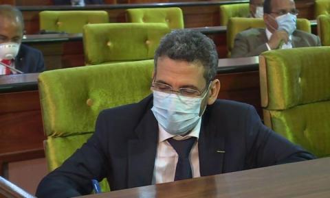 وزير المالية الموريتاني محمد الأمين ولد الذهبي