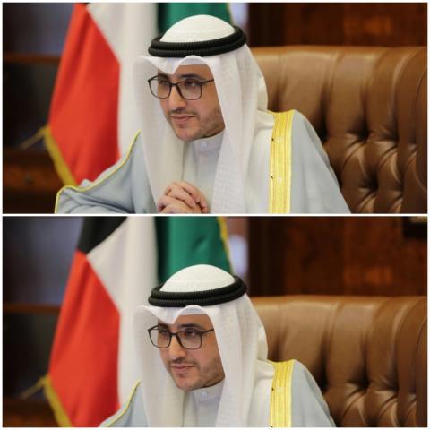 وزير الخارجية الكويتي الشيخ أحمد ناصر المحمد الصباح (الصحافة الكويتية)