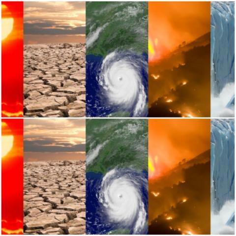 احترار سطح الأرض والمحيطات ونقص تراكم الجليد وازدياد الأعاصير كانت أبرز سمات 2020 (الإدارة الوطنية للمحيطات والغلاف الجوي)