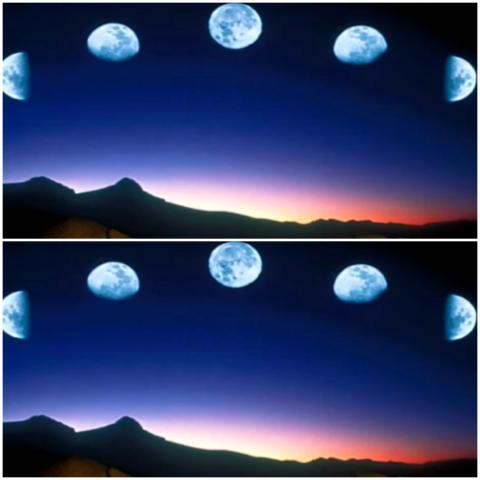 أظهرت الدراسة الجديدة أن دورات النوم تتأرجح مع زيادة حجم القمر وصغره (يوتيوب-جامعة واشنطن)