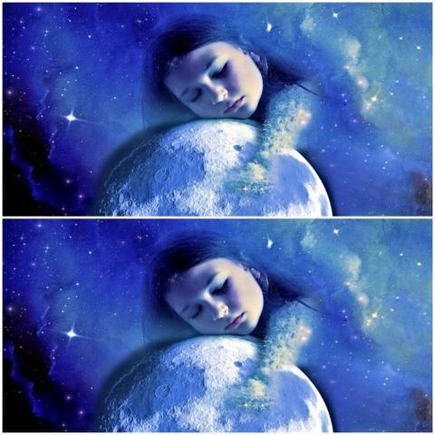 في الأيام التي تسبق اكتمال القمر ينام الناس في وقت متأخر ولفترات زمنية أقصر (بيكسابي)
