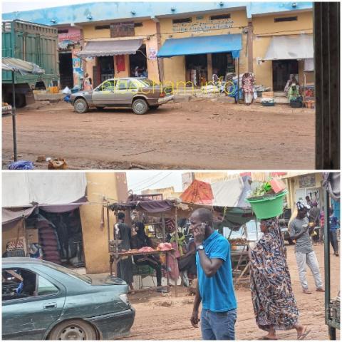 صور من سوق مدينة كيهيدي ( حصري البشام الإخباري)