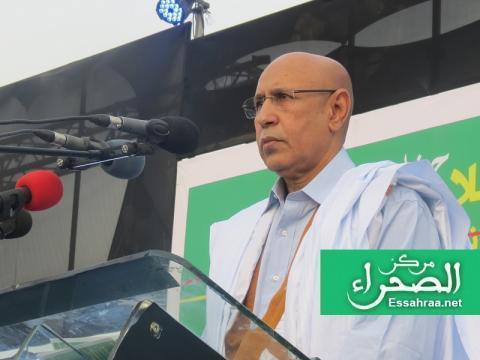 محمد ولد الشيخ الغزواني (المصدر ارشيف الصحراء)