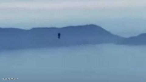 الجسم النفاث الذي رصد فوق ساحل كاليفورنيا