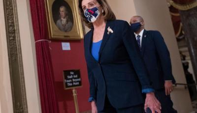 رئيسة مجلس النواب الأميركي نانسي بيلوسي (أ.ف.ب)