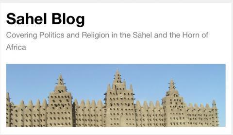 واجهة مدونة الساحل على الإنترنت