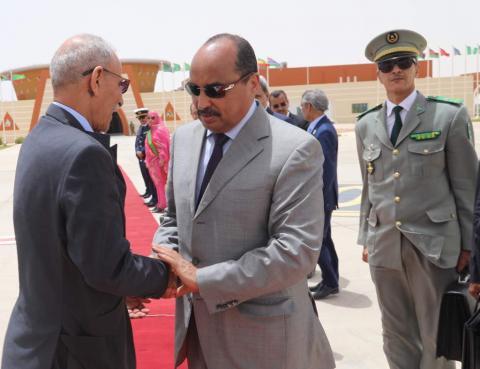 الرئيس الصحراوي إبراهيم غالي