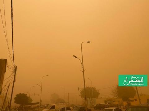 صورة من نواكشوط يوم أمس