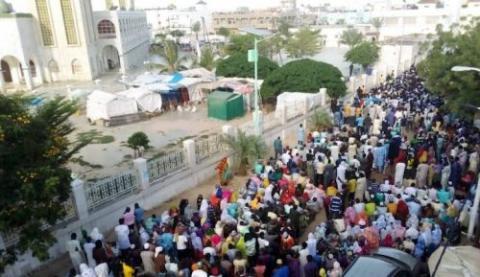 مدينة باي خلال استقبالها مشيعي الفقيد