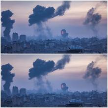 إسرائيل كثفت فجر اليوم غاراتها الجوية عل غزة (الأوروبية)