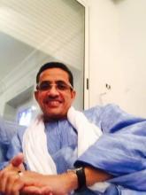 المستشار الأول في السفارة بتونس  / الشريف محمد فال