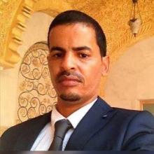 الشاعر ابراهيم ولد محمد احمد الأندلسي رئيس المكتب التنفيذي لمجموعة سدنة الحرف