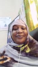 السيدة: بيكه باب ديكو رئيسة قسم الطفولة في المديرية الحهوية للشؤون الاجتماعية والطفولة والأسرة على مستوى ولاية غورغول  ( البشام  )